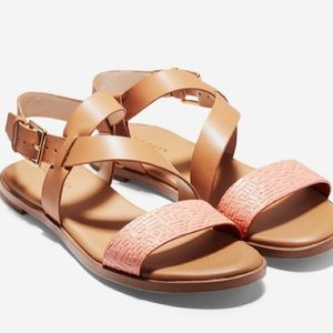 Cole Haan strappy leather sandal